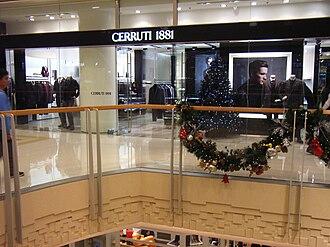 Cerruti - Image: HK West Kln Elements mall shop Cerruti 1881