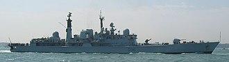 HMS Gloucester (D96) - Image: HMS Gloucester D96