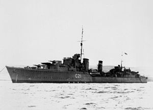 Convoy PQ 15 - HMS Punjabi sunk after collision