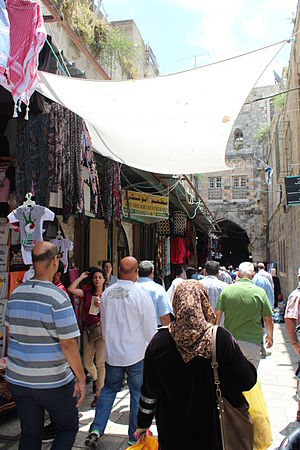 Alley - Hagay Street, Old City, Jerusalem