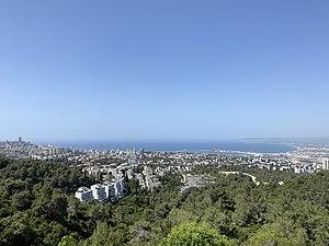 Haifa Bay from Mount Carmel