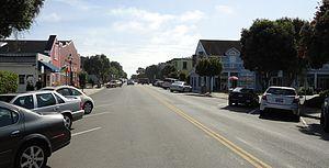 Half Moon Bay, California - Downtown Half Moon Bay