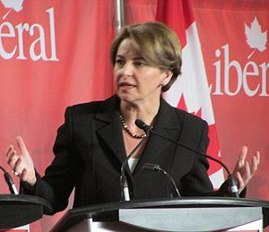 Martha Hall Findlay - Hall Findlay during a candidates debate on February 16, 2013, in Mississauga