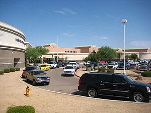 Hamilton High School (Chandler, Arizona) - Image: Hamilton High Chandler 1