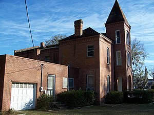 National Register of Historic Places listings in Hamilton County, Florida - Image: Hamilton County Jail Jasper 04