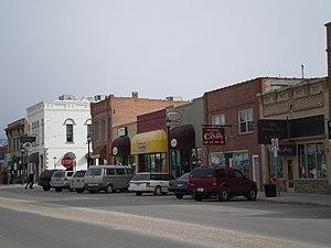 Hamilton, Montana - Downtown Hamilton