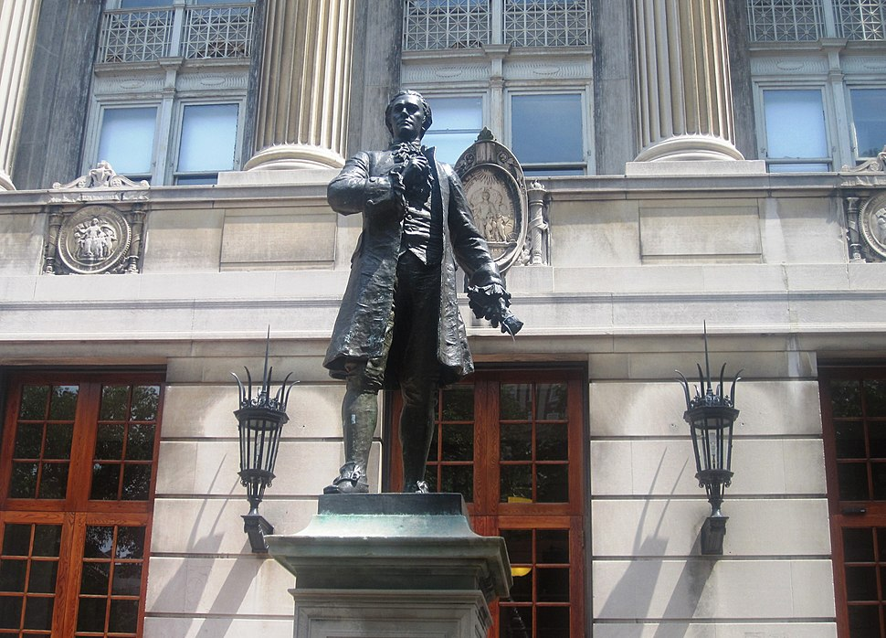 Hamilton statue at Columbia University IMG 0958