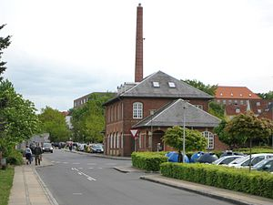 Hammel - The building of the former railway station