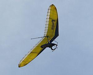 General aviation in Europe - Image: Hangglider 103042006