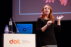 Hannah Fry - At the Data of Tomorrow conference, 2017