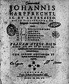 Harprecht, Johann – Commentarii, 1615 – BEIC 13689376.jpg