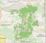 Harta de localizare Judetul Sulecin, Polonia.jpg