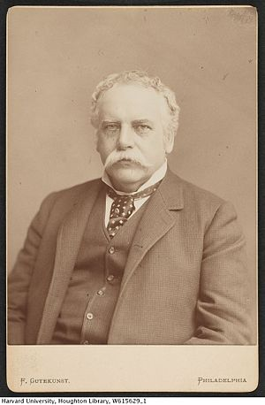 George Henry Boker - Boker in his later years by Frederick Gutekunst