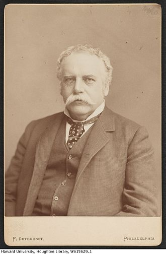 George Henry Boker - Boker in his later years by Frederick Gutekunst