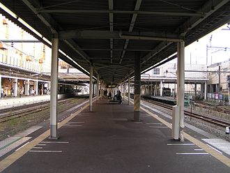Hashimoto Station (Kanagawa) - JR East platform