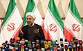 Hassan Rouhani press conference after his election as president 02.jpg