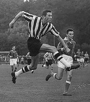 Landskrona BoIS - Hasse Persson scored 257 goals in 327 matches between 1955–1965.