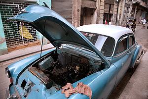 Oldsmobile Series 70 - Image: Havana Cuba 1380