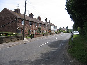East Farleigh - Image: Heath Road, East Farleigh, Kent geograph.org.uk 187936
