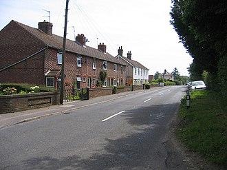 East Farleigh - Image: Heath Road, East Farleigh, Kent geograph.org.uk 187936