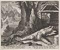 Heilige Meinradus van Einsiedeln als kluizenaar.jpeg