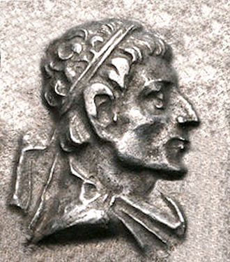 Heliokles II - Portrait of Heliokles II