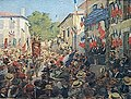 Henri Dabadie - Le président Fallières acclamé par ses compatriotes.jpg