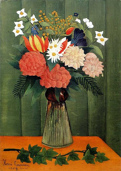 File:Henri Rousseau - Bouquet of Flowers with an Ivy Branch.jpg