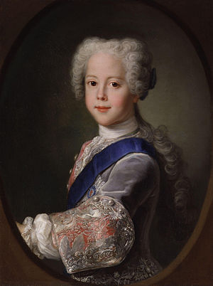 Henry Benedict Stuart - A young Henry Benedict Stuart (painted ca. 1729–1732), bearing a striking resemblance to his elder brother Charles Edward Stuart