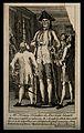 Henry Blacker, a giant. Line engraving. Wellcome V0006996.jpg