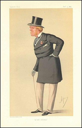 Hermit (horse) - Henry Chaplin, as caricatured in Vanity Fair