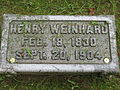 Henry Weinhard gravemarker.JPG