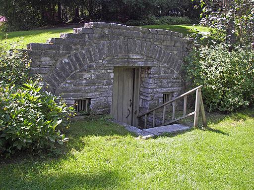 Herkimer House underground storage 2