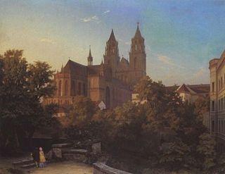 Hermann Gemmel German painter, architect and professor