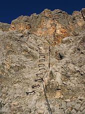 Klettersteig – Wikipedia