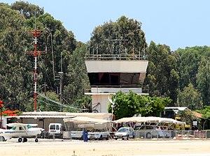 Herzliya Airport - Herzliya airport tower