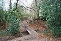 High Weald Way crosses a small stream - geograph.org.uk - 1104198.jpg