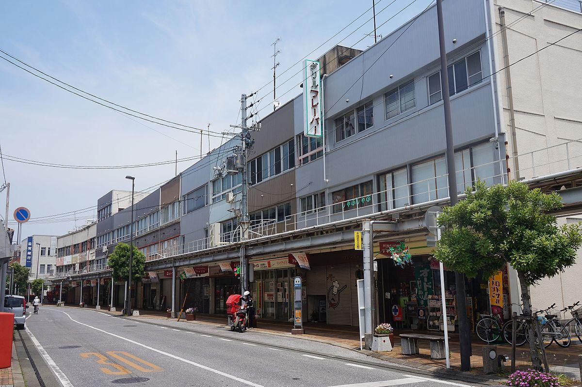 銀座商店街 (彦根市) - Wikipedia