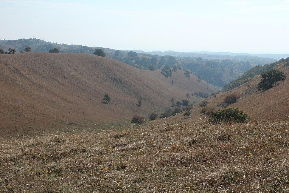 Hills of Deliblatska pescara, Serbia