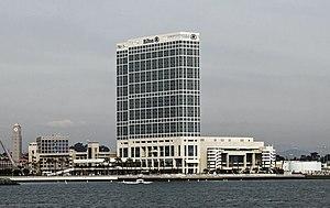 Hilton San Diego Bayfront - Image: Hilton San Diego Bayfront Hotel