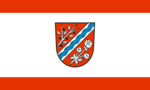 Flag of the municipality Turnow-Preilack.png