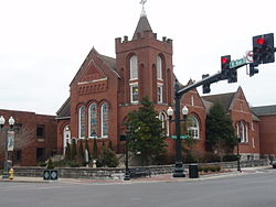 Historic franklin presbyterian church tennesee 2010.jpg