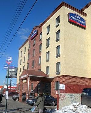 Utica Avenue - Hotel on northern Utica Avenue