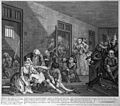 Hogarth's The Rake's Progress; scene at Bedlam. Wellcome M0008974.jpg