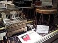 Hohner accordion (c.1920s), Ludwig drum (1926), Museum of Making Music.jpg