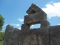 Homestead FL Coral Castle king stone01.jpg