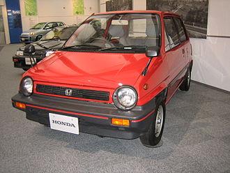 """Honda City (AA) - Honda City AA, early """"R"""" version"""