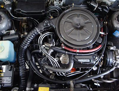 1751 Cc EK1 Engine In A 1983 Honda Accord