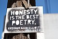 Honest is the Best Poetry. -- Gregory Alan Elliott.jpg