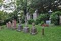 Hornau, Friedhof, Gagerngräber.JPG